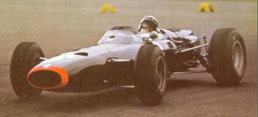 Jackie Stewart BRM Cup winner in 1966