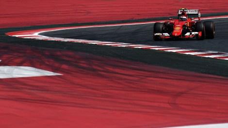 Kimi Raikkonen - SpanishGP 2015