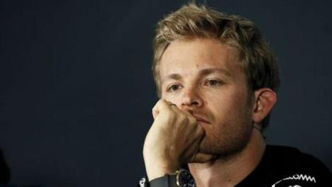 Mercedes Formula One driver Nico Rosberg of Germany attends a news conference ahead of the Spanish Grand Prix at the Circuit de Barcelona-Catalunya racetrack in Montmelo, near Barcelona, Spain, May 7, 2015. REUTERS/Albert Gea