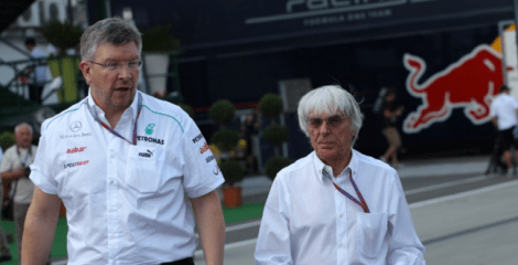 brawn and ecclestone working together running f1 in the future