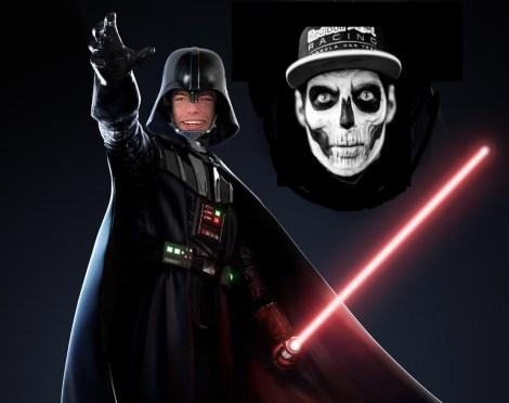 Max Verstappen passes to the dark side