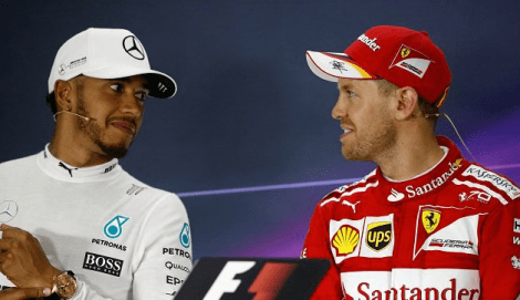 Vettel Hamilton 2017