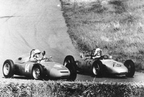 Ben Pon and Carel 1962 Dutch GP