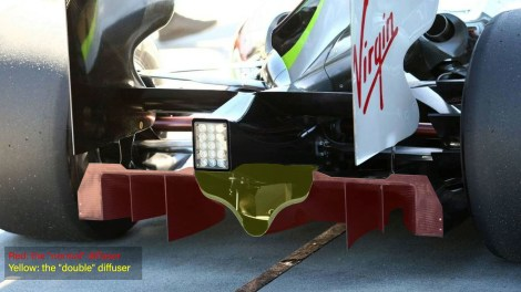 double diffuser brawn
