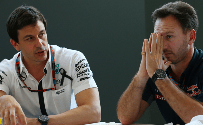 Horner on reverse grid: Wolff doesn't want to try, in case Hamilton doesn't win