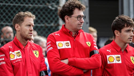 "Vettel accuses Ferrari of lying about his ""supposed"" new contract"