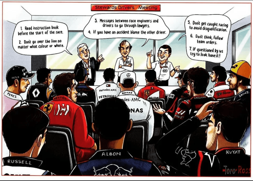 F1 2020 Christmas The latest, funny Christmas card to F1 from Ecclestone