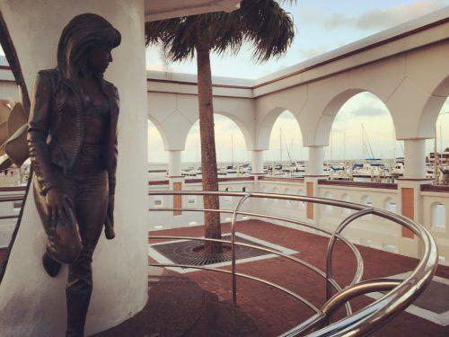 Mirador de la Flor memorial to Selena, Corpus Christi