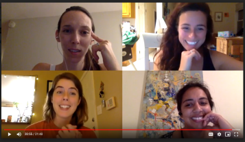 Signing off on our final pre-launch video call.