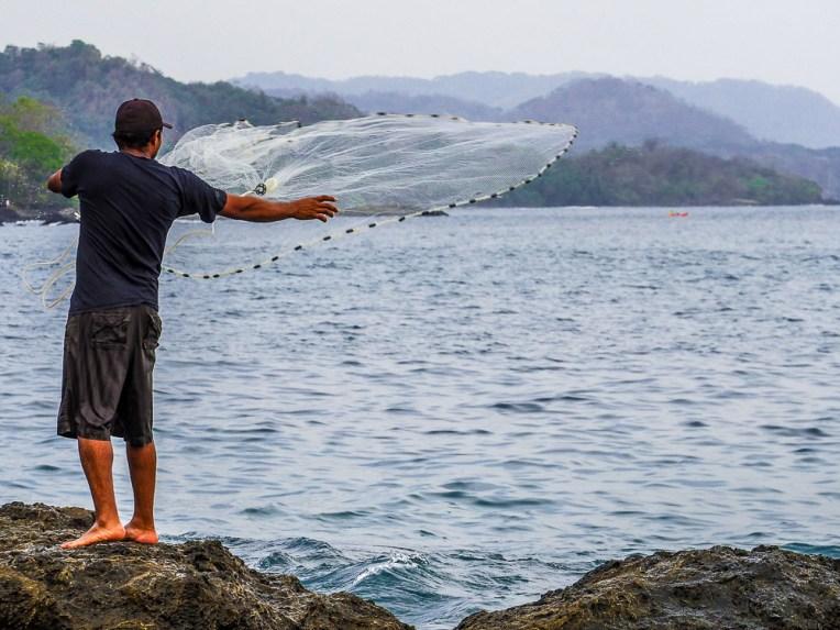 Montezuma fisherman