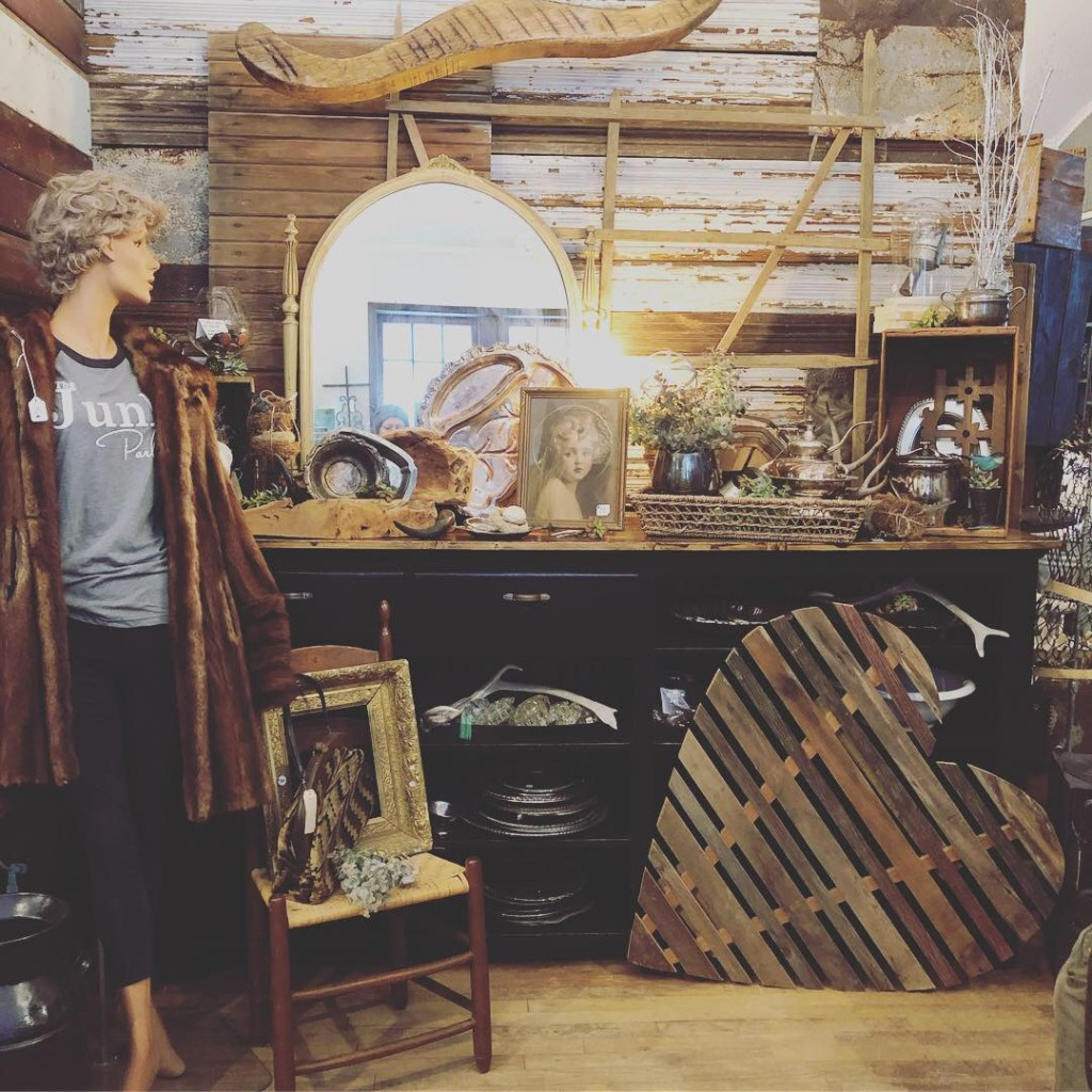 Old stuff & cool junk at The Junk Parlor located in Centerville, Iowa.