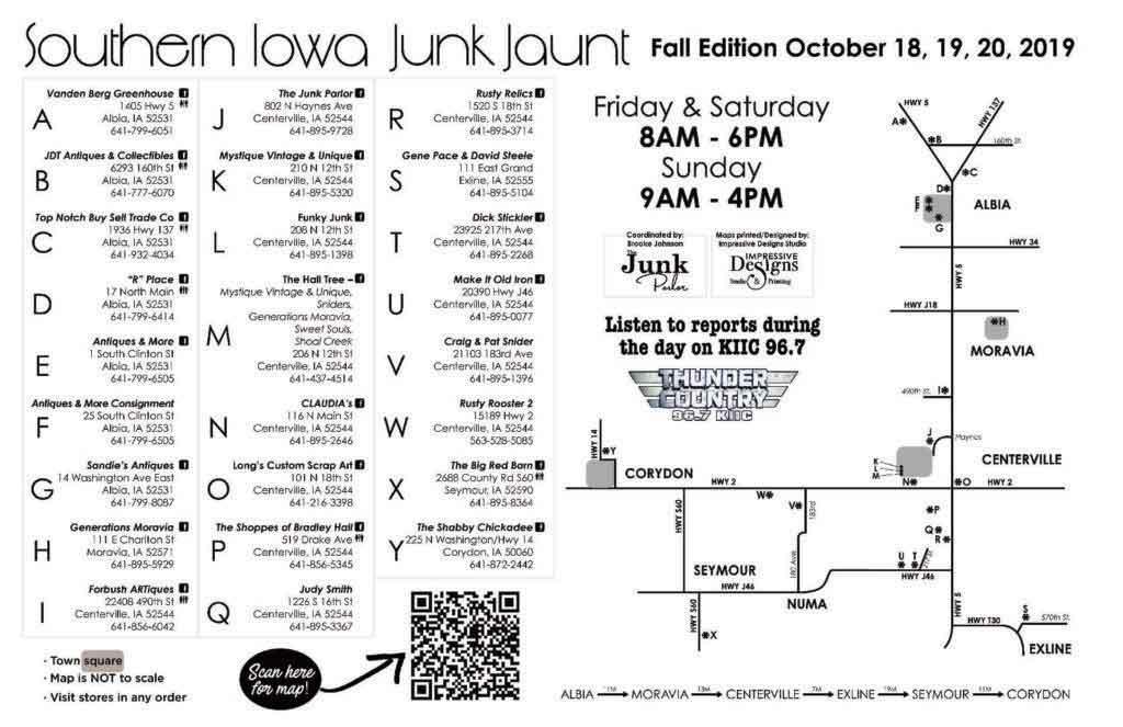Southern Iowa Junk Jaunt