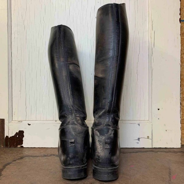 Vintage Leather Biltrite English Equestrian Riding Boots