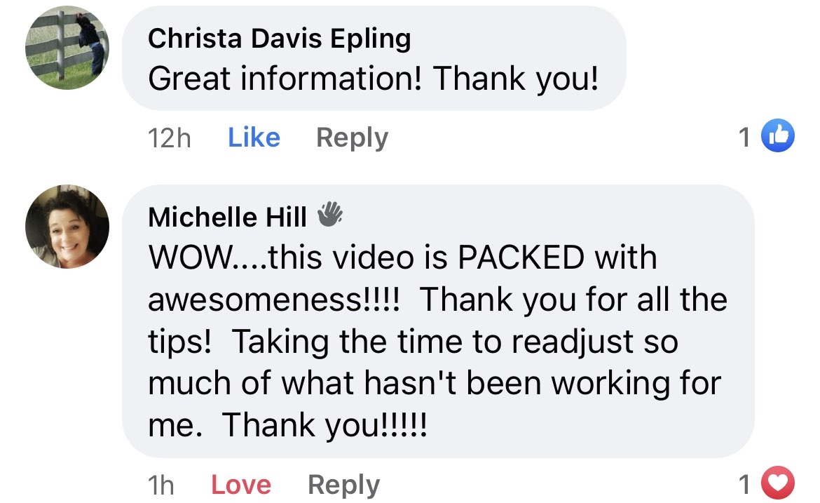 Christa and Michelle Hill SYAS Testimonials