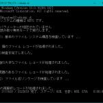 CHKDSKではRAWディスクと言われるが、ディスクの管理ではNTFSと表示される(メモ)