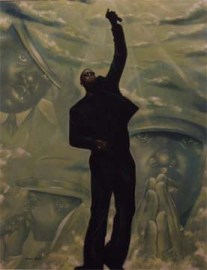 25x19, Acrylic & Varnish on Paper (2007)