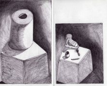 Toilet Paper by Leon Martinez