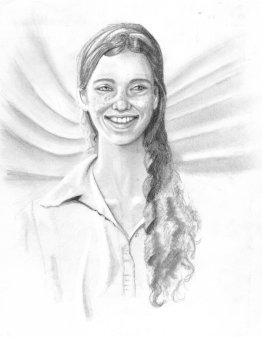 """""""Smiling Girl"""" by Conor Broderick"""