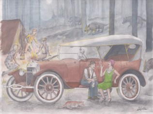 1922 Buick by D. Ashton