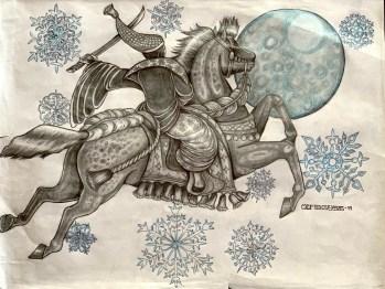 Genjis Horse Murasaki