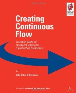 flow book, continuous flow book, lean manufacturing flow, one piece flow, single piece flow, book on flow, TPS book, toyota production system book