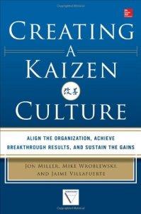 Creating a Kaizen Culture by Jon Miller, Jaime Villafuerte and Mike Wroblewski (kaizen books, kaizen book)