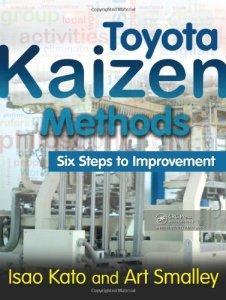 Toyota Kaizen Methods by Art Smalley & Isao Kato (kaizen books, kaizen book)