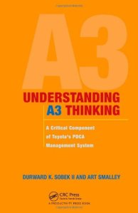 A3 report, A3 book, A3 problem solving, A3 template