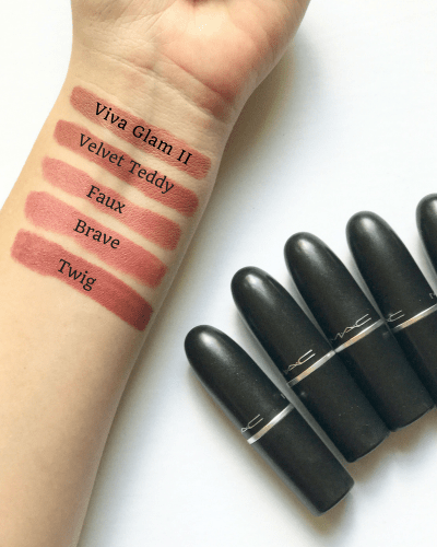 Best MAC Lipstick Nude + Pink Shades