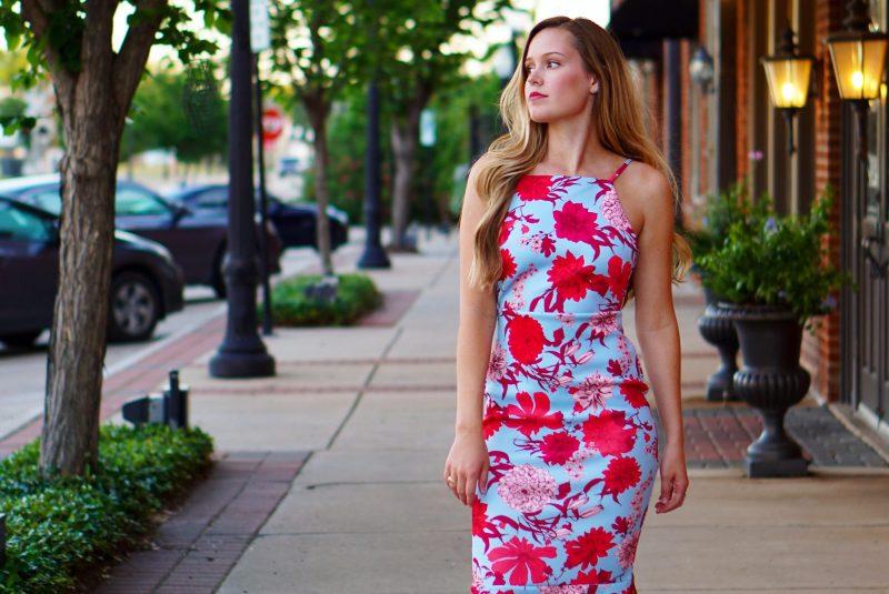Floral Midi Dress: Summer in Full Bloom