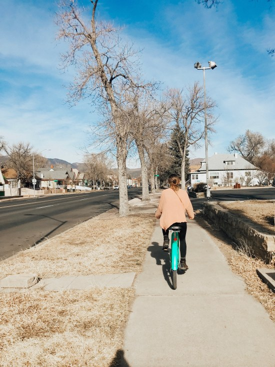 What to do in Colorado Springs, Bike around town
