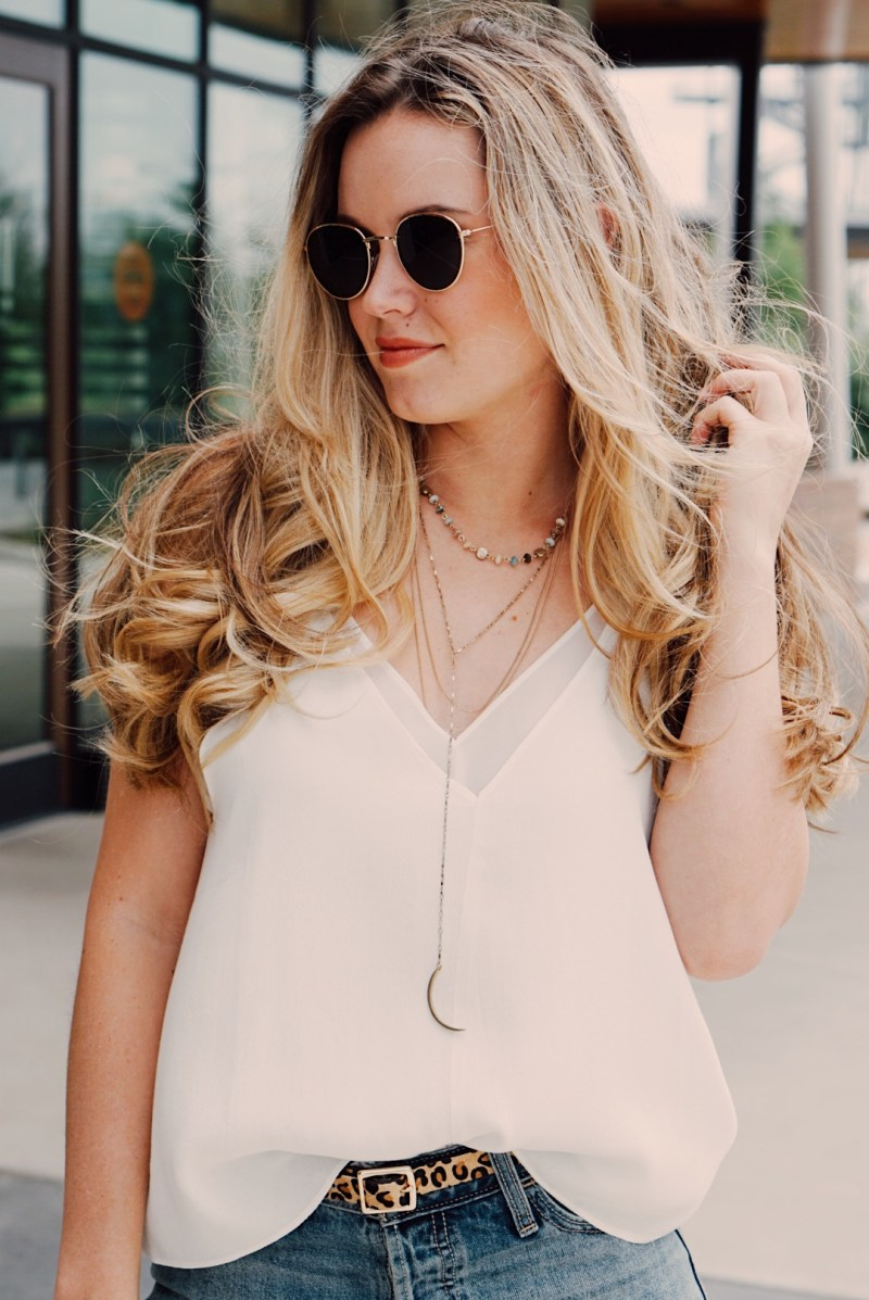 Back to Basics: Styling a White Tank!