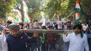 NSUI tricolor march