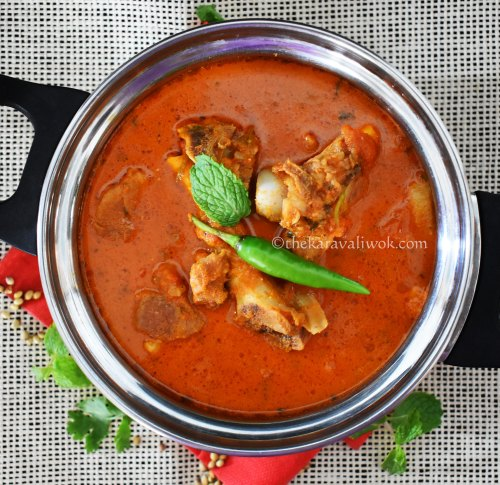 Mutton Curry Mangalorean Style