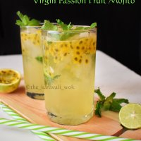Virgin Passionfruit Mojito Recipe | Alcohol free Mojito