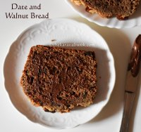 Sugarfree Date and Walnut Bread