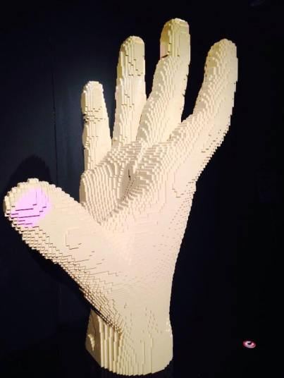 art of the brick hand2