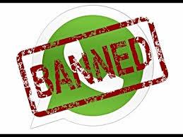 WhatsApp to ban users