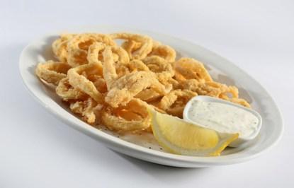 calamari, appetizers, Greek restaurant in Niagara Falls, Mediterranean restaurant in Niagara Falls