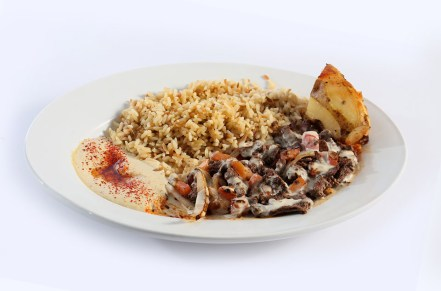 breakfast platter, breakfast places in Niagara, Greek restaurant in Niagara Falls, Mediterranean cuisine