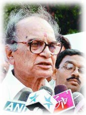 Letter to Mr. Rajiv Gandhi - Jagmohan (1/2)