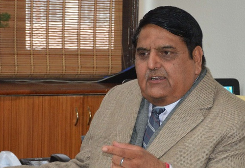 B B Vyas quits as Advisor to Governor, to join as member UPSC next week