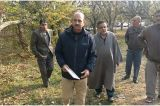 CHO Bla tours Sangrama and Rafiabad constituencies, takes stock of damages to horti sector