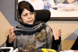 Mehbooba hails Pakistan for allowing minorities to play role in nation building