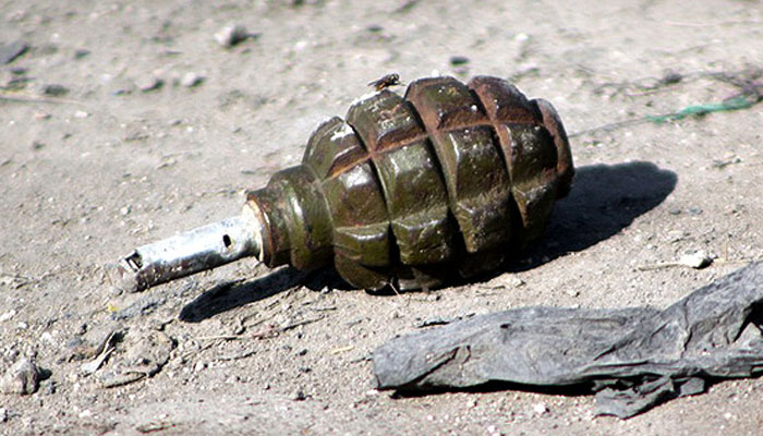 """""""Arrested militant killed in grenade attack"""""""