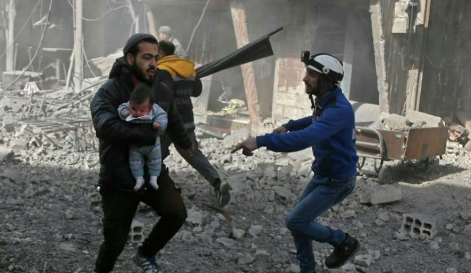 200 dead as Syria enclave pounded ahead of expected ground assault