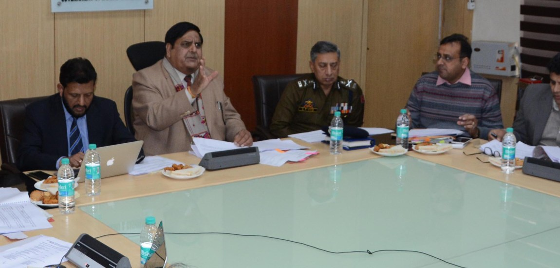 Chief Secretary chairs 14th Dal Monitoring Committee meeting