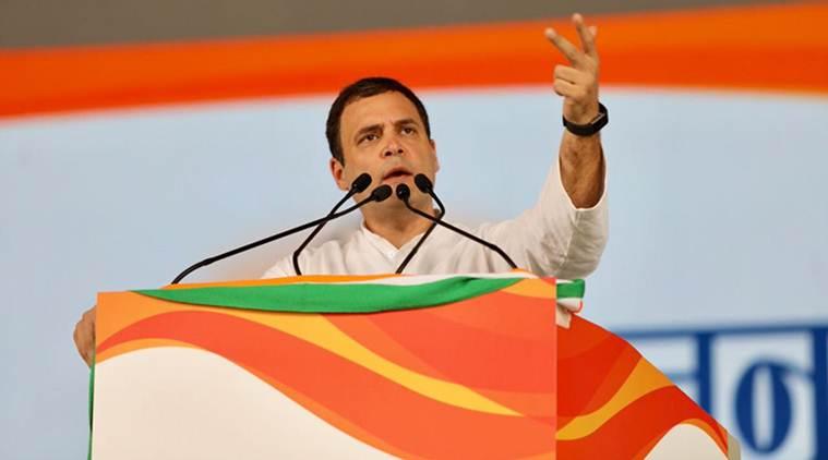 Rahul attacks PM at Jan Akrosh rally