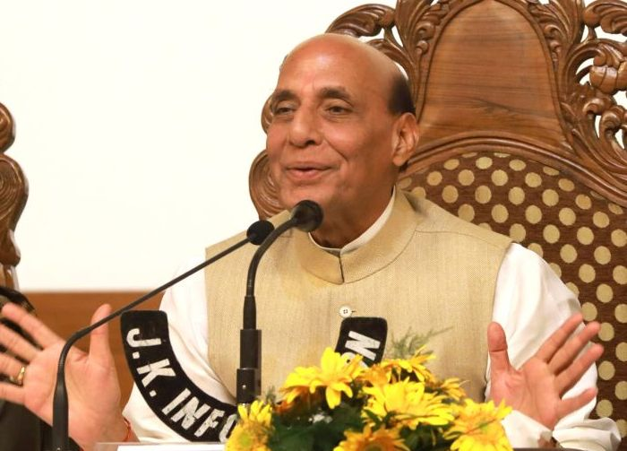 We'll empower youth with power of education, sports: Rajnath