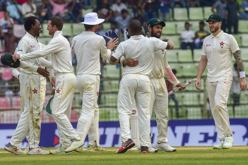 Zimbabwe thrash Bangladesh for long-awaited Test win